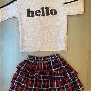 Zara/Jcrew set size 5